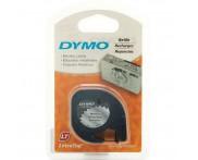 Fita Metalizada para Letratag Dymo