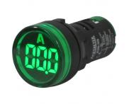 Indicador Digital Amperímetro Verde A20-3G 22mm Metaltex