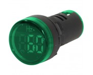 Indicador Digital Frequencímetro Verde F20-3G 22mm Metaltex