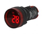 Indicador Digital de Temperatura Vermelho T20-3R 22mm Metaltex