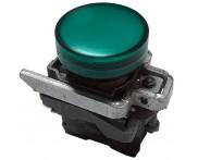 Saldo - Sinaleiro 22mm com LED 24V VD. XB4-BVB3 Telemecanique