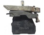 Saldo - Corpo Sinaleiro com LED 220V VD 22mm ZB4BVM3 Telemecanique