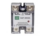 Rele Estado Sólido 90-280VCA 50A SAP-4850A Digimec