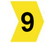 Pacote C/ 100 Anilhas (Nº9) Hellermantyton
