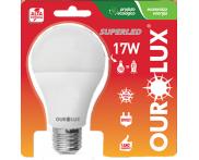 Lâmpada SuperLED Alta Potência 17W 6500K Ourolux