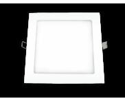 LED Downlight Embutir Quadrada 6400K 12W Ourolux