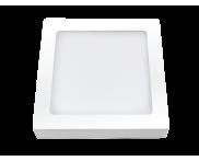 LED Downlight Sobrepor Quadrada 6400K 12W Ourolux