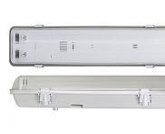 Luminária Sobrepor IP65 2x28W a 54W Ourolux