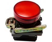 Saldo - Sinaleiro 22mm com LED 24V VM. XB4-BVB4 Telemecanique