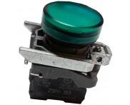 Saldo - Sinaleiro 22mm com LED 220V VD. XB4-BVM3 Telemecanique